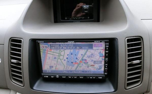 日産純正 HDDカーナビ HC704-A(MAX940HD)取付け