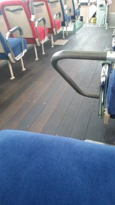 懐かしいバス